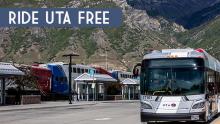Picture of UTA bus